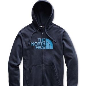 Men's half dome Zip up North face hoodie